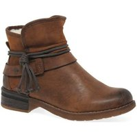 Rieker  Eaton Womens Casual Ankle Boots  women's Mid Boots in Brown