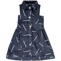 Emporio Armani  Andy  girls's Children's dress in Blue