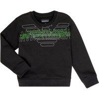 Emporio Armani  Austin  boys's Children's sweatshirt in Black
