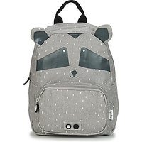 TRIXIE  MISTER RACCOON  girls's Children's Backpack in Grey