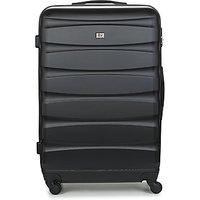 David Jones  CHAUVETTINI 107L  mens Hard Suitcase in Black