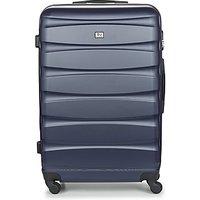 David Jones  CHAUVETTINI 107L  womens Hard Suitcase in Blue