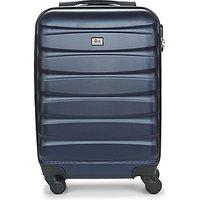 David Jones  CHAUVETTINI 40L  womens Hard Suitcase in Blue