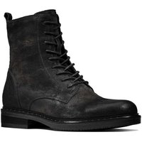 Clarks  Jenna Lace Womens Lace Biker Boot  womens Mid Boots in Black