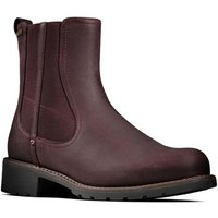 Clarks  Orinoco On GTX Womens Chelsea Boot  women's Mid Boots in Red