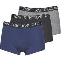 Hom  HOM BOXERLINES BOXER BRIEF PACK X3  men's Boxer shorts in Blue