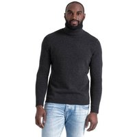 Woolovers-Lambswool-Polo-neck-Jumper-mens-Sweater-in-Grey
