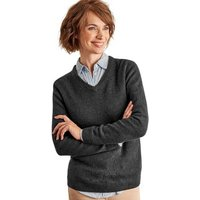 Woolovers-Lambswool-V-Neck-Jumper-womens-Sweater-in-Grey