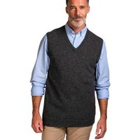 Woolovers-Lambswool-Knitted-Slipover-mens-Sweater-in-Grey