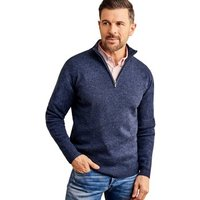 Woolovers-Lambswool-Zip-Neck-Jumper-mens-Sweater-in-Blue