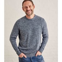 Woolovers-100-Cotton-Crew-Neck-Jumper-mens-Sweater-in-Blue