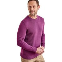 Woolovers-100-Cotton-Crew-Neck-Jumper-mens-Sweater-in-Purple