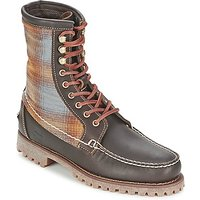 Timberland  AUTHENTICS 8 IN RUGGED HANDSEWN F/L BOOT  men's Mid Boots in Brown