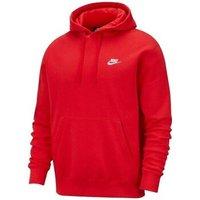Nike  M Nsw Club Hoodie PO BB  men's Sweatshirt in Red