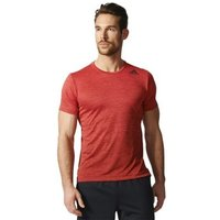 adidas  Freelift Gradient Tee  men's T shirt in Red