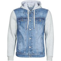 Yurban  LAURYNE  men's Denim jacket in Blue