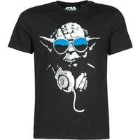 Yurban  DJ YODA COOL  men's T shirt in Black