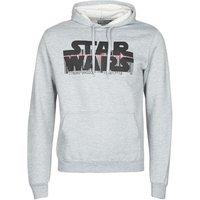 Yurban  Star Wars Bar Code  men's Sweatshirt in Grey