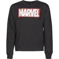 Yurban  MARVEL MAGAZINE CREW  men's Sweatshirt in Black