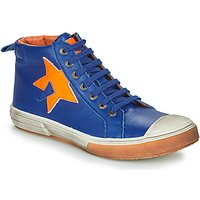 GBB  OCALIAN  boys's Children's Shoes (High-top Trainers) in Blue