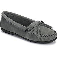 Minnetonka  KILTY  women's Loafers / Casual Shoes in Grey