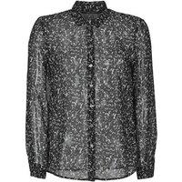 Ikks  BR12025  women's Shirt in Black