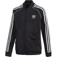 adidas  SST TRACKTOP  boys's Children's Tracksuit jacket in Black