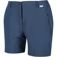Regatta  Highton Mid Walking Shorts Blue  womens Shorts in Blue