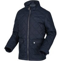 Regatta  Zion Quilted Insulated Jacket Blue  girlss Childrens coat in Blue