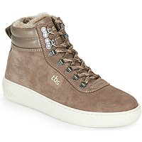 TBS  IMAGINE  women's Shoes (High-top Trainers) in Beige