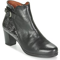 Karston  TUCKO  women's Low Ankle Boots in Black
