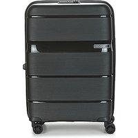 American Tourister  LINEX SPINNER 66 CM TSA  mens Hard Suitcase in Black