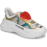 Love Moschino  JA15196G1B  women's Shoes (Trainers) in Silver