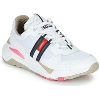 Tommy Jeans  WMN TOMMY JEANS COOL RUNNER  women's Shoes (Trainers) in White