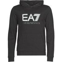 Emporio Armani EA7  TRAIN VISIBILITY M HOODIE RN COFT  men's Sweatshirt in Black