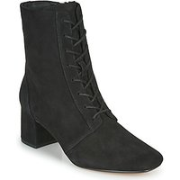 Clarks  SHEER55 LACE  womens Low Ankle Boots in Black
