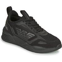 Emporio Armani EA7  XK165  men's Shoes (Trainers) in Black