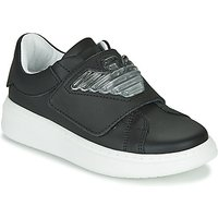 Emporio Armani  XYX014-XOI08  girls's Children's Shoes (Trainers) in Black