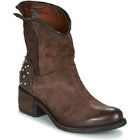 Airstep / A.S.98  OPEA STUDS  women's Low Ankle Boots in Brown