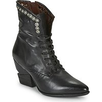 Airstep / A.S.98  TINGET LACE  womens Low Ankle Boots in Black
