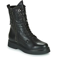 Mjus  TRIPLE ZIP  women's Mid Boots in Black