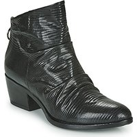 Mjus  APOLDA  women's Low Ankle Boots in Black