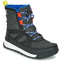 Sorel  YOUTH WHITNEY II SHORT LACE  girlss Childrens Mid Boots in Black