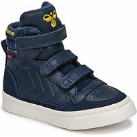 Hummel  STADIL CHECK  boys's Children's Shoes (High-top Trainers) in Black