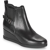 Geox  ANYLLA WEDGE  womens Low Ankle Boots in Black