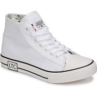 Le Temps des Cerises  HOOD  womens Shoes (Trainers) in White