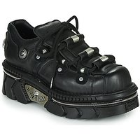 New Rock  M-233-C5  womens Shoes (Trainers) in Black