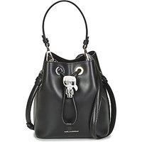 Karl Lagerfeld  K/IKONIK BUCKET BAG  womens Shoulder Bag in Black