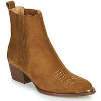 Ikks  TIAG SUEDE  womens Low Ankle Boots in Brown