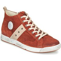 Pataugas  JAGGER/CR H4F  mens Shoes (High-top Trainers) in Orange